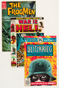 Comic Books - Assorted Silver and Bronze Age War Comics Group (Various Publishers, 1963-82) Condition: Average VF/NM...