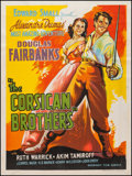 "Movie Posters:Adventure, The Corsican Brothers (Mudnaney Film Service, R-1950s). IndianPoster (30' X 40""). Adventure.. ..."