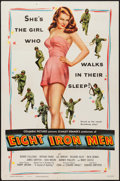 "Movie Posters:War, Eight Iron Men (Columbia, 1952). One Sheet (27"" X 41""). War.. ..."