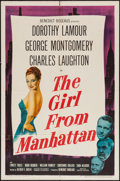 """Movie Posters:Drama, The Girl from Manhattan (United Artists, 1948). One Sheet (27"""" X41""""). Drama.. ..."""
