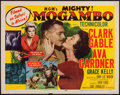 "Movie Posters:Adventure, Mogambo (MGM, 1953). Half Sheet (22"" X 28"") Style A. Adventure....."