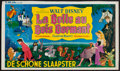"Movie Posters:Animation, Sleeping Beauty (Elan Films, 1960). Trimmed Belgian (12.5"" X21.5""). Animation.. ..."