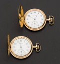 Timepieces:Pocket (post 1900), Two Waltham Hunter Case Pocket Watches Runners. ... (Total: 2 Items)