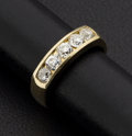 Estate Jewelry:Rings, Diamond & Gold Ring, Approx. 0.75 cttw.. ...