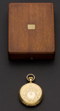 Timepieces:Pocket (pre 1900) , Elgin Choice 18k Gold 10 Size Dexter St. . ...
