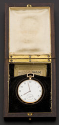 Timepieces:Pocket (post 1900), Howard 12 Size With Original Box & Papers. ...