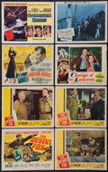 Movie Posters:War, The Desert Fox & Others Lot (20th Century Fox, 1951). TitleLobby Cards (4), Lobby Cards (12), Lobby Card Sets of 8 (2), Ita...(Total: 40 Items)