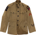 Military & Patriotic:WWI, WWI U.S. Air Service Enlisted Tunic....