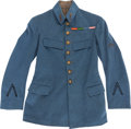 Military & Patriotic:WWI, WWI French Enlisted Pilots' Tunic....