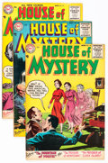 Golden Age (1938-1955):Horror, House of Mystery Group (DC, 1955-56) Condition: Average FN/VF....(Total: 12 Comic Books)