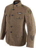 Military & Patriotic:WWI, WWI U.S. Air Service Military Aeronaut Enlisted Mans' Tunic....