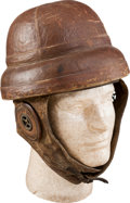 Military & Patriotic:WWI, WWI Roold Style Flying Helmet....