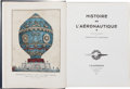 Military & Patriotic:WWI, Beautifully Illustrated French Book on the History of Aviation....
