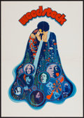 "Movie Posters:Rock and Roll, Woodstock (Warner Brothers, 1970). German A2 (16"" X 23""). Rock andRoll.. ..."