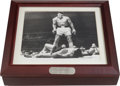 Boxing Collectibles:Autographs, 1993 Muhammad Ali Signed Fossil Watch With Display Box. ...