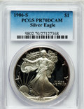 Modern Bullion Coins: , 1986-S $1 PR70 Deep Cameo PCGS. PCGS Population (759). NGC Census:(1135). Numismedia Wsl. Price for problem free NGC/PCGS...