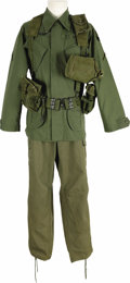 "Movie/TV Memorabilia:Costumes, ""Forrest Gump"" -- Tom Hanks Army Uniform. A U.S. Army costume wornby Hanks in scenes set in Vietnam in the 1994 movie, for ...(Total: 1 Item)"