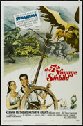 "Movie Posters:Fantasy, The 7th Voyage of Sinbad (Columbia, R-1975). One Sheet (27"" X 41"")Style B. Adventure. Directed by Nathan Juran. Starring Ke..."