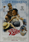 """Movie Posters:Sports, The Babe (Universal, 1992). One Sheet (27"""" X 40"""") Double Sided Advance. Sports Drama. Directed by Arthur Hiller. Starring Jo..."""