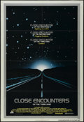 "Movie Posters:Science Fiction, Close Encounters of the Third Kind (Columbia, 1977). One Sheet (27""X 41""). Sci-Fi. Directed by Steven Spielberg. Starring R..."