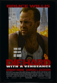 "Die Hard With a Vengeance (20th Century Fox, 1995). One Sheet (27"" X 40""). Action. Directed by John McTiernan..."
