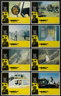 """Movie Posters:Action, Duel (Universal, 1972). International Lobby Card Set of 8 (11"""" X14""""). This small, made-for-TV film was so popular when rele...(Total: 8 Items)"""