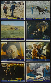 "The Electric Horseman Lot (Columbia, 1979). Press Kit (Multiple Pages), Mini Lobby Card Set of 8 (8"" X 10""), S..."
