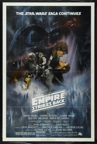 """The Empire Strikes Back (20th Century Fox, 1980). One Sheet (27"""" X 41"""") Style A. Sci-Fi Adventure. Directed by..."""
