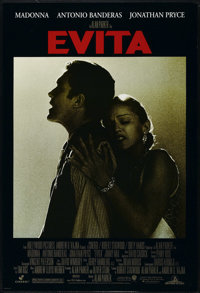 "Evita (Buena Vista, 1996). One Sheet (27"" X 40""). Musical. Directed by Alan Parker. Starring Madonna, Antonio..."