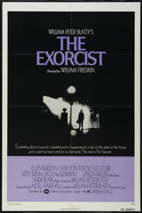 """The Exorcist (Warner Brothers, 1973). One Sheet (27"""" X 41""""). Horror. Directed by William Friedkin. Starring El..."""