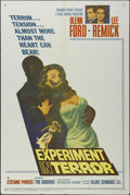 """Movie Posters:Mystery, Experiment in Terror (Columbia, 1962). One Sheet (27"""" X 41""""). Thriller. Directed by Blake Edwards. Starring Glenn Ford, Lee ..."""