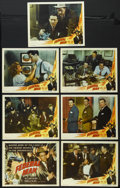 """Movie Posters:Crime, Federal Man (Eagle Lion, 1950). Title Lobby Card (11"""" X 14"""") and Lobby Cards (6) (11"""" X 14""""). Crime. Directed by Robert Emme... (Total: 7 Items)"""