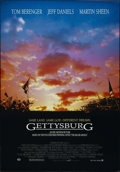 "Movie Posters:War, Gettysburg (New Line, 1993). One Sheet (27"" X 40""). War. Directedby Ronald F. Maxwell. Starring Martin Sheen, Jeff Daniels,..."