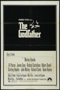 "Movie Posters:Crime, The Godfather (Paramount, 1972). One Sheet (27"" X 41""). CrimeDrama. Directed by Francis Ford Coppola. Starring Marlon Brand..."