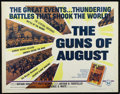 "Movie Posters:Documentary, The Guns of August (Universal, 1965). Half Sheet (22"" X 28""). Documentary. Directed by Nathan Kroll. Narrated by Fritz Weave..."