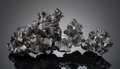 Minerals:Cabinet Specimens, MAGNETITE. Balmat Mine, Fowler Orebody, St. Lawrence Co., NewYork, USA. ...