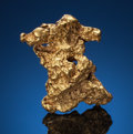 Minerals:Small Cabinet, GOLD NUGGET. North of Laverton, Western Australia. ...