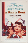 "Movie Posters:Musical, A Star is Born (Warner Brothers, 1954). One Sheet (27"" X 41""). Musical.. ..."