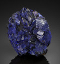 Minerals:Museum Specimens, AZURITE. Czar Shaft, Bisbee, Warren Dist., Cochise Co., Arizona,USA. ...