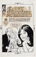 Original Comic Art:Covers, Just Married #87 Cover Original Art (Charlton, 1972)....