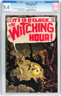Silver Age (1956-1969):Horror, The Witching Hour #3 (DC, 1969) CGC NM 9.4 Off-white to whitepages....