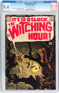 The Witching Hour #3 (DC, 1969) CGC NM 9.4 Off-white to white pages