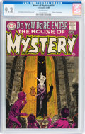 Silver Age (1956-1969):Horror, House of Mystery #174 (DC, 1968) CGC NM- 9.2 Off-white pages....