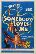 "Movie Posters:Musical, Somebody Loves Me (Paramount, 1952). One Sheet (27"" X 41"").Musical.. ..."
