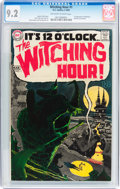 Silver Age (1956-1969):Horror, The Witching Hour #1 (DC, 1969) CGC NM- 9.2 Off-white to whitepages....