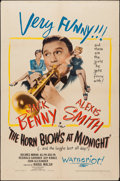 "Movie Posters:Fantasy, The Horn Blows at Midnight (Warner Brothers, 1945). One Sheet (27""X 41""). Fantasy.. ..."