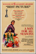 "Movie Posters:Academy Award Winners, A Man For All Seasons (Columbia, 1966). One Sheet (27"" X 41"").Academy Award Winners.. ..."