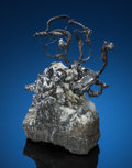 Minerals:Small Cabinet, NATIVE SILVER. Kongsberg Silver Mining District, Kongsberg, Buskerud, Norway. ...