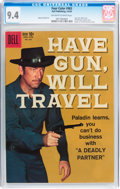 Silver Age (1956-1969):Western, Four Color #983 Have Gun, Will Travel (Dell, 1959) CGC NM 9.4Off-white to white pages....