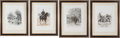 "Militaria:Ephemera, Two prints: (1)""Fantasia de Spahis"", 1886, and (2)""Gendamerie"", 1887, by Édouard Detaille.... (Total: 2 Items)"